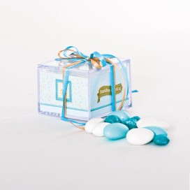 Μπομπονιέρα κουτί Plexi Glass
